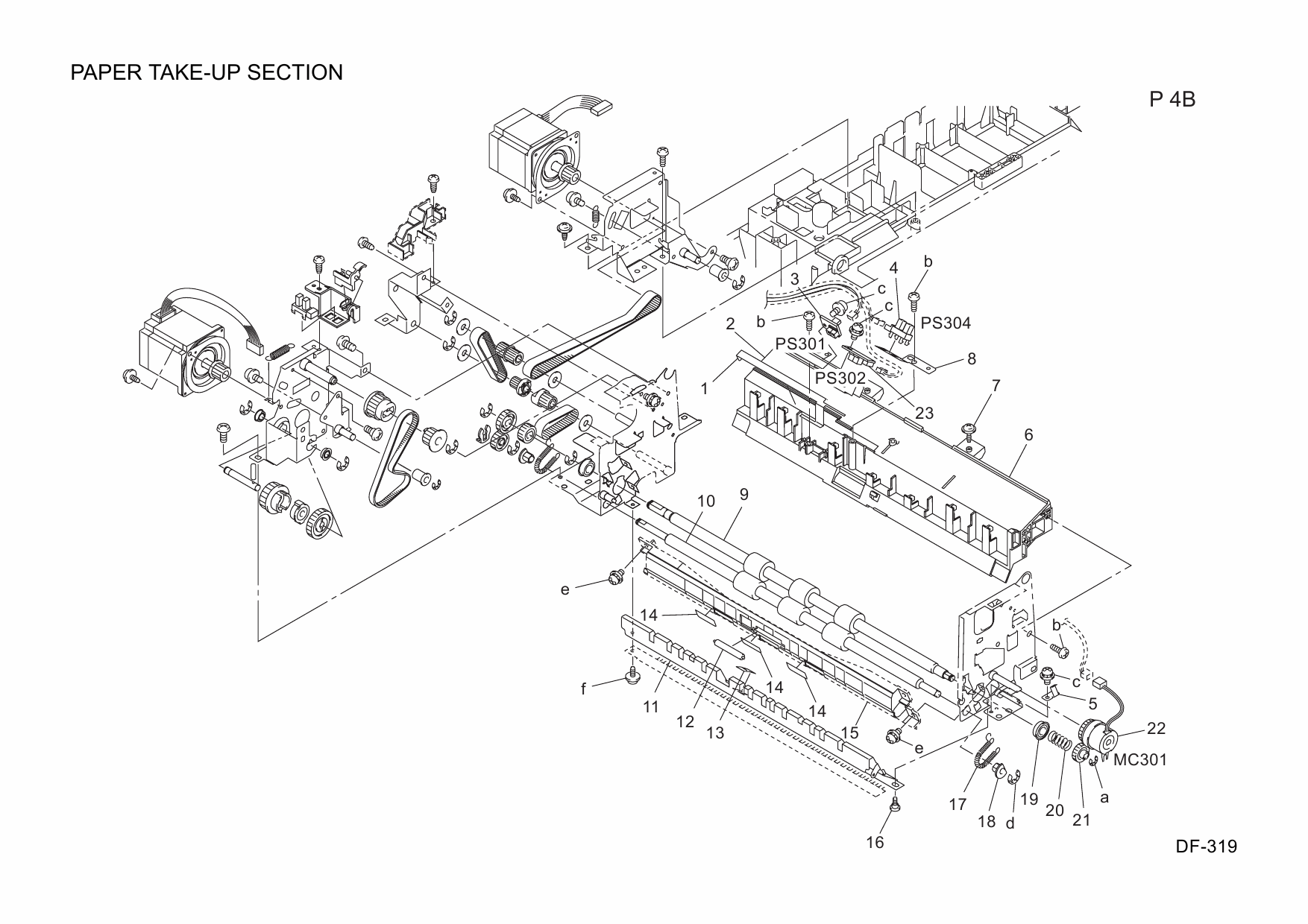 Konica-Minolta Options DF-319 20AJ Parts Manual-2